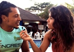 Jessico Carro Interviews Berg in Porto Seguro