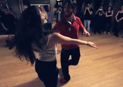 Video: Kamacho & Sarah Zuccaro's 2nd Zouk Demo in Chicago