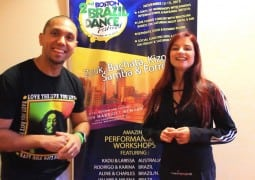 Video: Kadu & Larissa Demo @ the 2015 Boston Brazilian Dance Festival